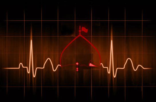 محرم.امام حسین.ضربان قلب. سینه زنی.عزاداری.فتح خون.آوینی